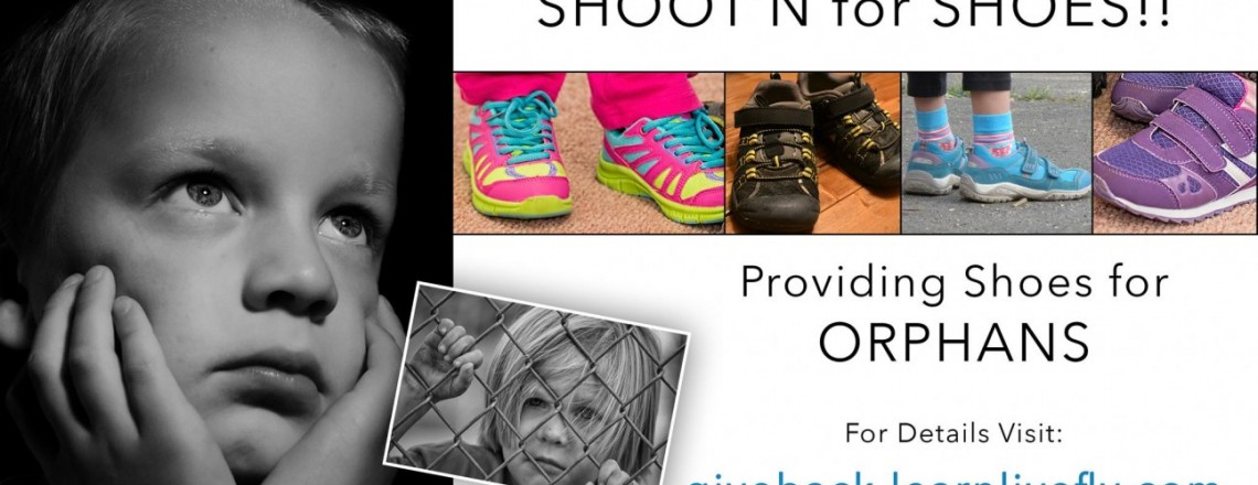 Shoot'n for shoes- YOUR Photo day!!!